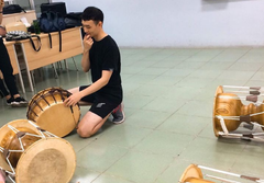 2019.4.13 호찌민3 학당과 함께하는 사물놀이 둘째 날  - 은미